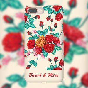 Çiçekli Telefon Kılıfları